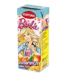 Fortuna Barbie pomarańcza sok100% 200ml