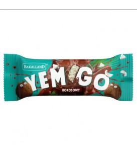 Baton YemGo Kokosowy w czekoladzie 40g.Bakalland
