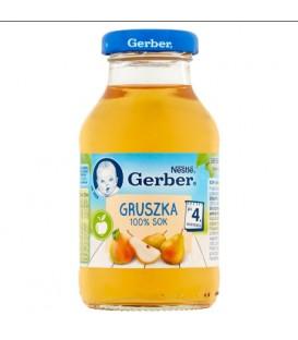 Gerber 100% Sok Gruszkowy 200ml