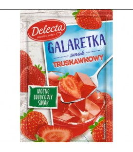 Galaretka truskawkowa 70g Delecta