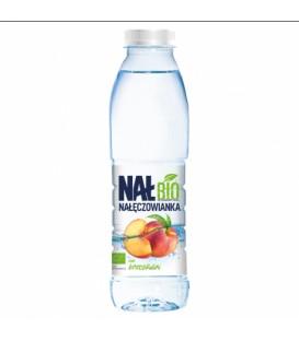Woda N/G Smakowa Nał Bio Brzoskwinia 0,5L.