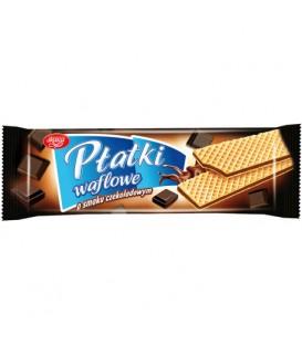 Płatki waflowe czekoladowe 130g Skawa