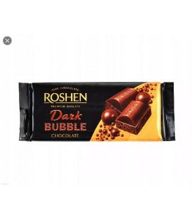 Czekolada gorzka bąbelkowa 80g Roshen