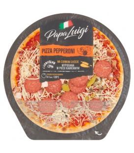 Pizza pepperoni 400g PAPA LUIGI