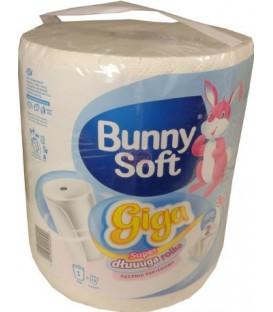 Ręcznik pap.1rolka 2w500lis.GIGA Bunny