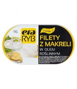 Filety z makreli w oleju 170g Era Ryb Graal