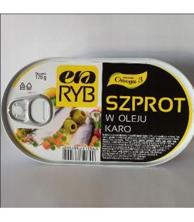 Szprot w oleju Caro 170g Graal