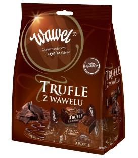 Wawel Trufle Cukierki o smaku rumowym w czekoladzie 280 g