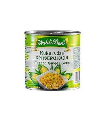 Kukurydza konserwowa 420g WaldiBen