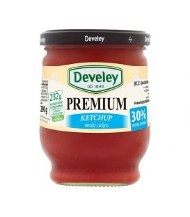 Ketchup premium mniej cuku 290g Develey
