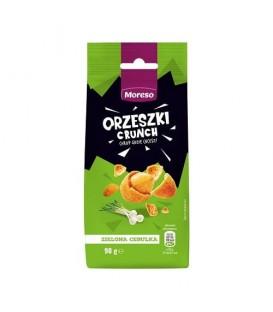 Orzeszki ziemne w chrup.skor.o sm.ziel.ceb. 90gMor