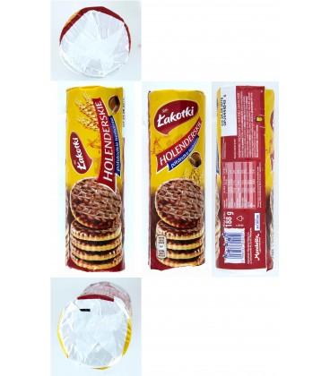 SAN Holenderskie w czekoladzie 188g