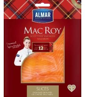 MAC ROY Łosoś wędzony z whisky plastry 95g