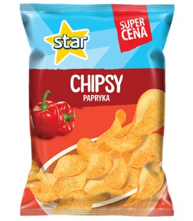 Star Chips Paprika 130g HC