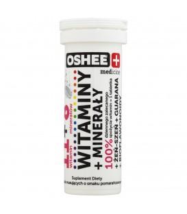 Oshee medicine Witaminy + Minerały Suplement diety 45 g (10 tabletek)
