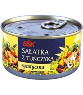 BkFood sałatka z tuńczyka egzotyczna 185g