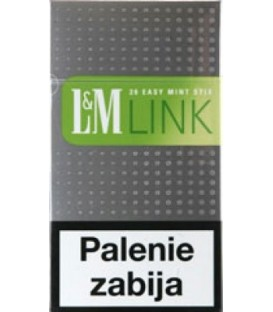 L&M Link Easy StixMint 100 Box papierosy